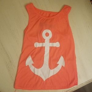 unknown Shirts & Tops - Anchor tank top!